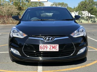 2016 Hyundai Veloster FS4 Series II + Coupe D-CT Black 6 Speed Sports Automatic Dual Clutch