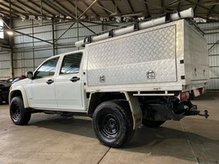 2008 Holden Colorado RC LX Crew Cab White 5 Speed Manual Cab Chassis