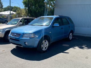 2006 Ford Territory SY Ghia Blue 4 Speed Sports Automatic Wagon.