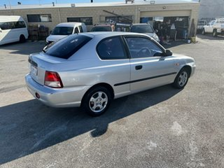 2000 Hyundai Accent LC GL Silver 4 Speed Automatic Hatchback