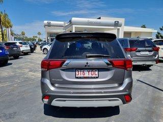 2018 Mitsubishi Outlander ZL MY19 LS 2WD Grey 6 Speed Constant Variable Wagon.