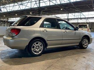 2003 Subaru Impreza S MY03 GX AWD Silver 4 Speed Automatic Hatchback