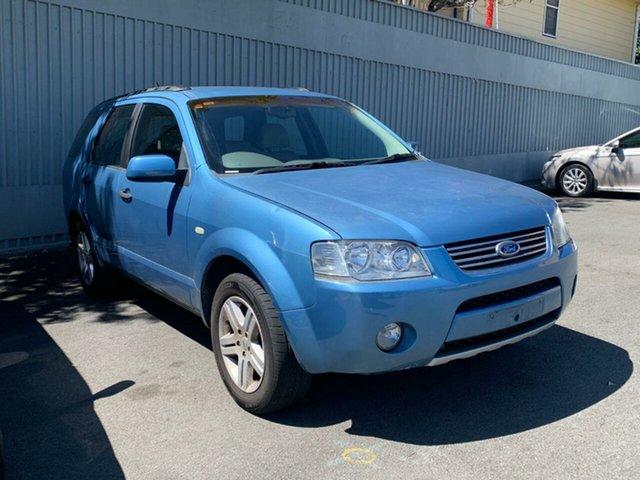Used Ford Territory SY Ghia Moorooka, 2006 Ford Territory SY Ghia Blue 4 Speed Sports Automatic Wagon