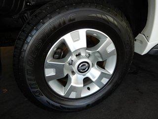 2013 Nissan Patrol GU Series 9 ST (4x4) White 4 Speed Automatic Wagon