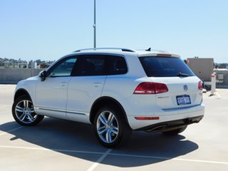 2012 Volkswagen Touareg 7P MY13 V6 TDI Tiptronic 4MOTION White 8 Speed Sports Automatic Wagon.