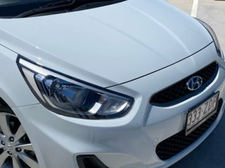 2019 Hyundai Accent RB6 MY19 Sport White 6 Speed Sports Automatic Hatchback