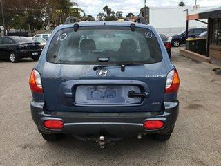 2001 Hyundai Santa Fe SM GL Blue 5 Speed Manual Wagon.