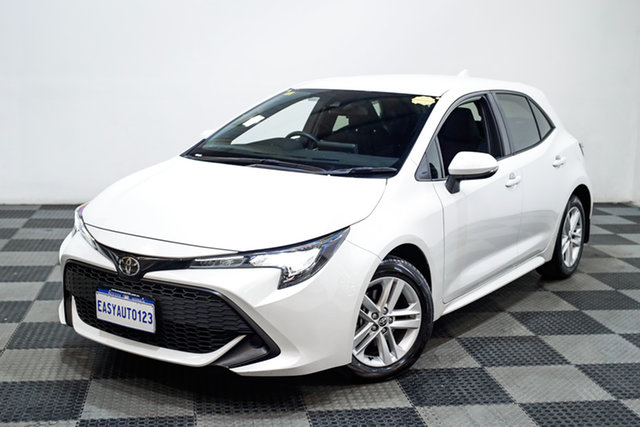 Used Toyota Corolla Mzea12R Ascent Sport Edgewater, 2020 Toyota Corolla Mzea12R Ascent Sport White 10 Speed Constant Variable Hatchback