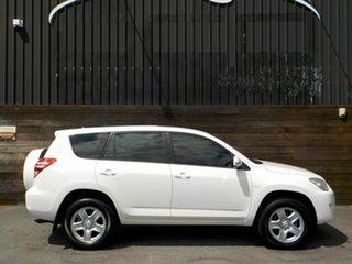 2009 Toyota RAV4 ACA33R MY09 CV White 5 Speed Manual Wagon.