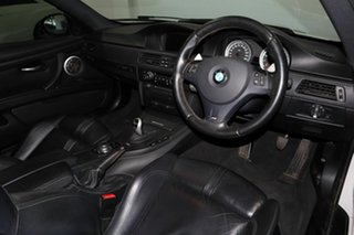 2010 BMW M3 E92 MY10.5. M-DCT White 7 Speed Sports Automatic Dual Clutch Coupe.