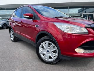 2016 Ford Kuga TF MY16 Ambiente 2WD Red 6 Speed Sports Automatic Wagon.