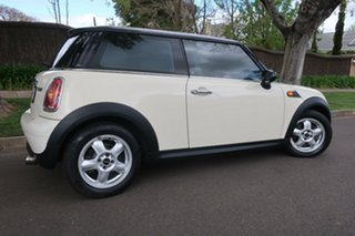 2008 Mini Hatch R56 Cooper White 6 Speed Manual Hatchback.