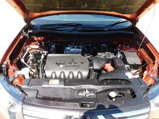 2013 Mitsubishi Outlander ZJ MY13 LS 2WD Orange 6 Speed Constant Variable Wagon