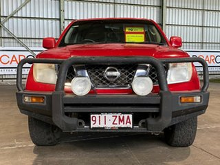 2011 Nissan Navara D40 MY11 ST Red 5 Speed Automatic Utility