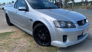 2009 Holden Commodore Ute SV6 Silver 6 Speed Manual Utility.