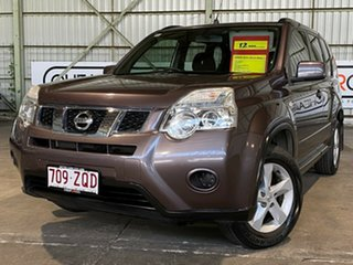 2010 Nissan X-Trail T31 MY10 ST Brown 1 Speed Constant Variable Wagon.