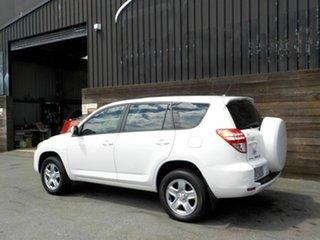 2009 Toyota RAV4 ACA33R MY09 CV White 5 Speed Manual Wagon