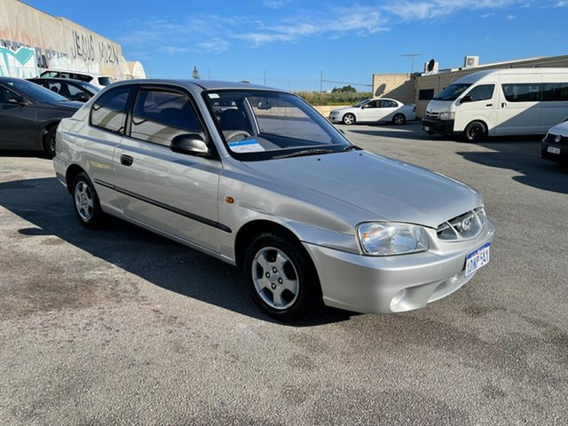 Used Hyundai Accent LC GL Wangara, 2000 Hyundai Accent LC GL Silver 4 Speed Automatic Hatchback