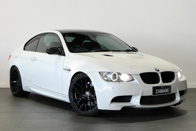Used BMW M3 E92 MY10.5 M-DCT Bayswater, 2010 BMW M3 E92 MY10.5. M-DCT White 7 Speed Sports Automatic Dual Clutch Coupe