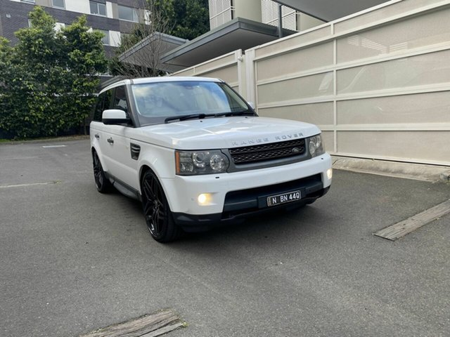 Used Land Rover Range Rover Sport L320 11MY TDV6 Zetland, 2011 Land Rover Range Rover Sport L320 11MY TDV6 White 6 Speed Automatic Wagon