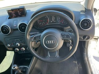 2012 Audi A1 8X MY12 Attraction Sportback White 5 Speed Manual Hatchback