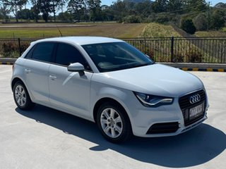 2012 Audi A1 8X MY12 Attraction Sportback White 5 Speed Manual Hatchback.