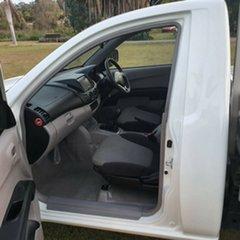 2012 Mitsubishi Triton MN MY12 GL 4x2 White 5 Speed Manual Cab Chassis