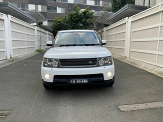 2011 Land Rover Range Rover Sport L320 11MY TDV6 White 6 Speed Automatic Wagon.