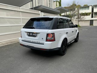 2011 Land Rover Range Rover Sport L320 11MY TDV6 White 6 Speed Automatic Wagon