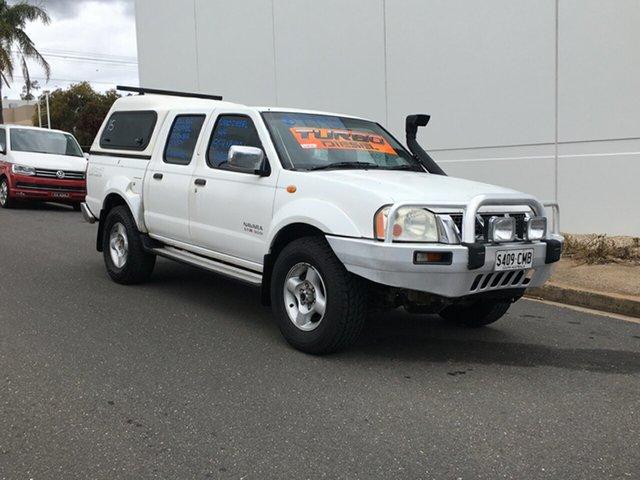 Used Nissan Navara D22 S2 ST-R Blair Athol, 2006 Nissan Navara D22 S2 ST-R White 5 Speed Manual Utility