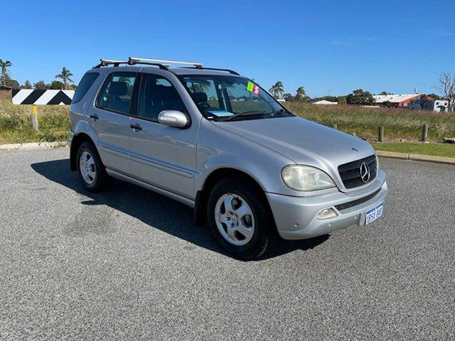 Used Mercedes-Benz ML270 CDI W163 Luxury (4x4) Wangara, 2004 Mercedes-Benz ML270 CDI W163 Luxury (4x4) Silver 5 Speed Auto Tipshift Wagon