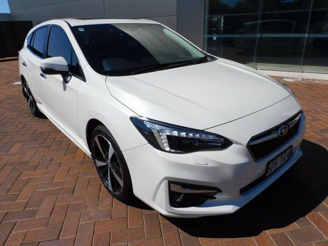 Used Subaru Impreza G5 MY19 2.0i-S CVT AWD Toowoomba, 2018 Subaru Impreza G5 MY19 2.0i-S CVT AWD White 7 Speed Constant Variable Hatchback