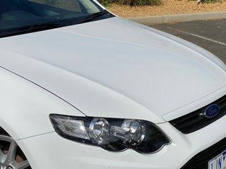 2013 Ford Falcon FG MkII XR6 White 6 Speed Sports Automatic Sedan