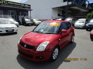 2009 Suzuki Swift EZ GL Red 4 Speed Automatic Hatchback.