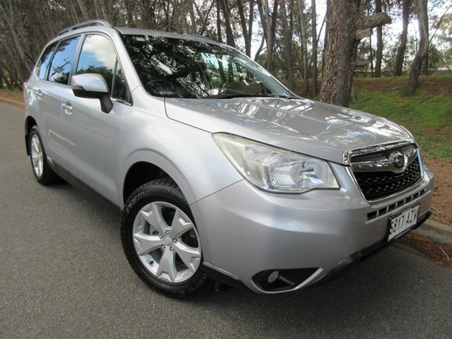Used Subaru Forester S4 MY13 2.5i-L Lineartronic AWD Reynella, 2013 Subaru Forester S4 MY13 2.5i-L Lineartronic AWD Ice Silver 6 Speed Constant Variable Wagon