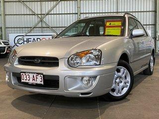 2003 Subaru Impreza S MY03 GX AWD Silver 4 Speed Automatic Hatchback.