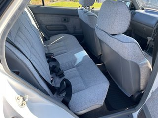 1991 Toyota Corolla AE92 CS White 3 Speed Automatic Sedan