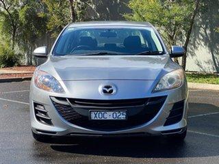 2010 Mazda 3 BL10F1 MY10 Maxx Activematic Silver 5 Speed Sports Automatic Sedan.