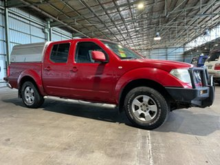2011 Nissan Navara D40 MY11 ST Red 5 Speed Automatic Utility.