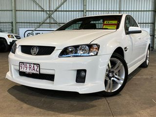 2010 Holden Ute VE MY10 SV6 White 6 Speed Sports Automatic Utility.