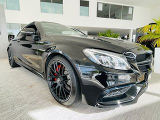 2017 Mercedes-Benz C-Class C205 808MY C63 AMG SPEEDSHIFT MCT S Black 7 Speed Sports Automatic Coupe.