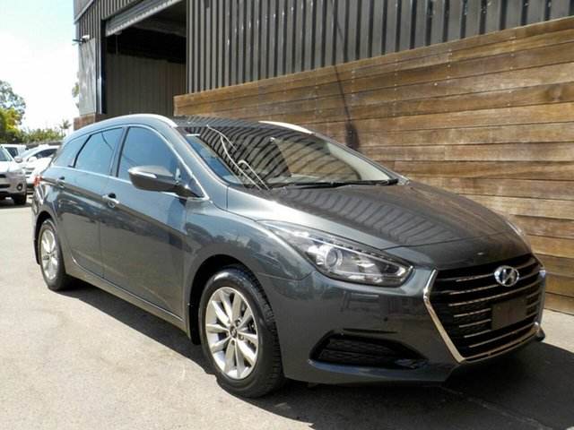 Used Hyundai i40 VF4 Series II Active Tourer D-CT Labrador, 2015 Hyundai i40 VF4 Series II Active Tourer D-CT Grey 7 Speed Sports Automatic Dual Clutch Wagon