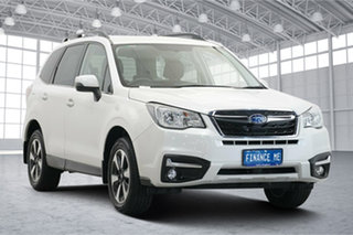 2017 Subaru Forester S4 MY18 2.5i-L CVT AWD Crystal Pearl 6 Speed Constant Variable Wagon.