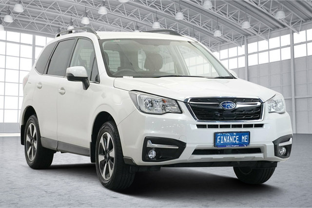 Used Subaru Forester S4 MY18 2.5i-L CVT AWD Victoria Park, 2017 Subaru Forester S4 MY18 2.5i-L CVT AWD Crystal Pearl 6 Speed Constant Variable Wagon