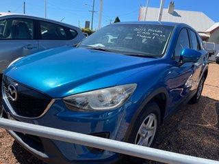 2012 Mazda CX-5 KE1071 Maxx SKYACTIV-MT Blue 6 Speed Manual Wagon