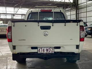 2007 Holden Rodeo RA MY07 LX Crew Cab White 4 Speed Automatic Utility