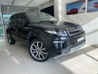 2018 Land Rover Range Rover Evoque L538 MY18 TD4 150 SE Black 9 Speed Sports Automatic Wagon