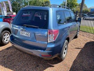 2010 Subaru Forester S3 MY10 X AWD Newport Blue 5 Speed Manual Wagon