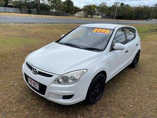 2010 Hyundai i30 FD MY10 SX White 4 Speed Automatic Hatchback.