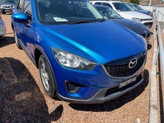 2012 Mazda CX-5 KE1071 Maxx SKYACTIV-MT Blue 6 Speed Manual Wagon.